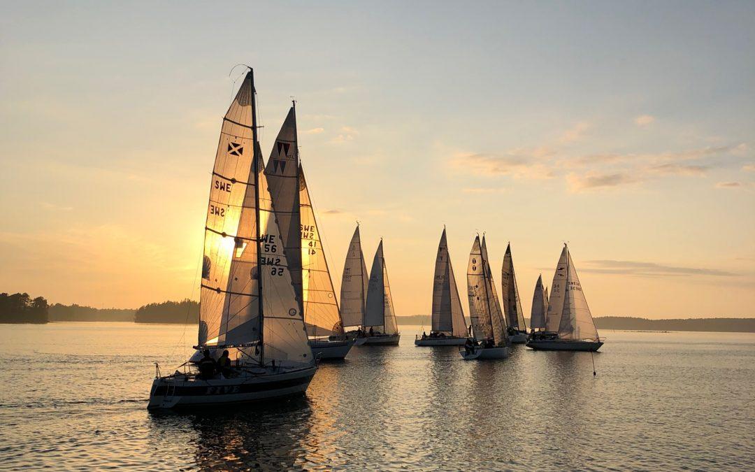 Vårens program av seglingsträffar