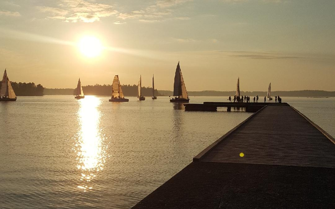 Utlottningspriser till deltagarna i CSS seglingar