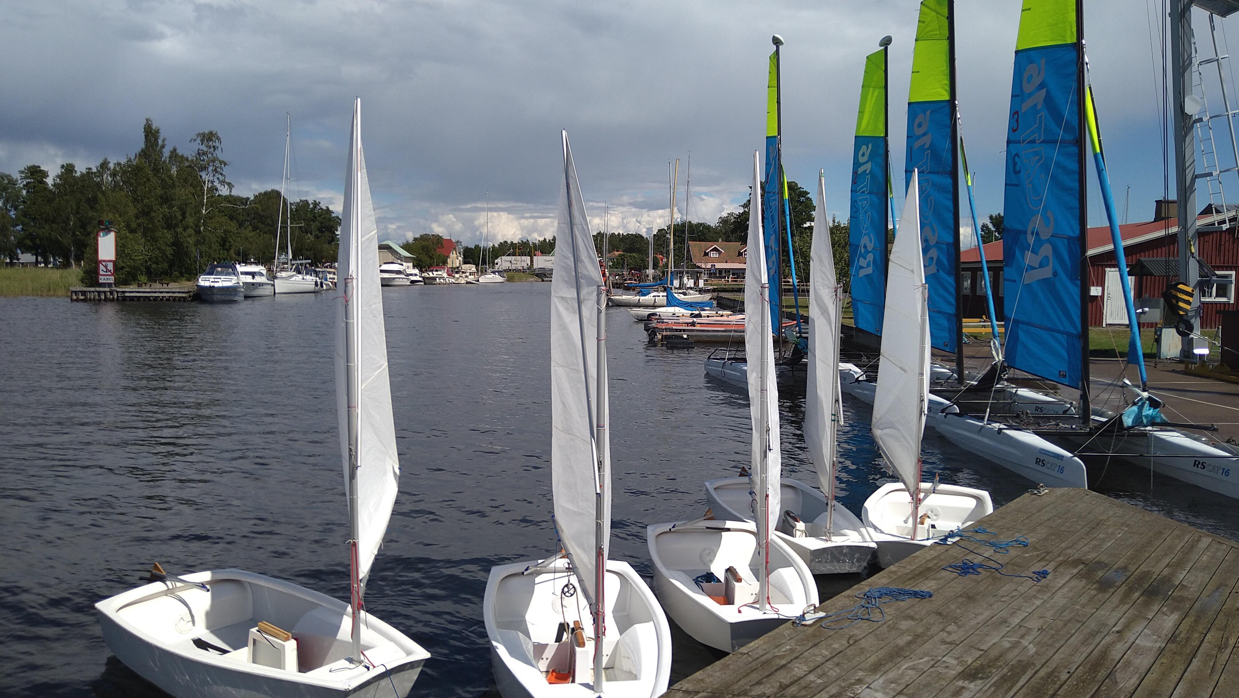Måndag den 12 juli startar seglarskolan då är kranen avstängd mellan 10:00 – 16:00